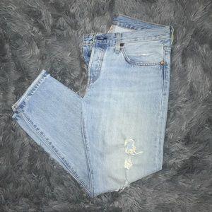 Women's Levi 501 CT Jeans
